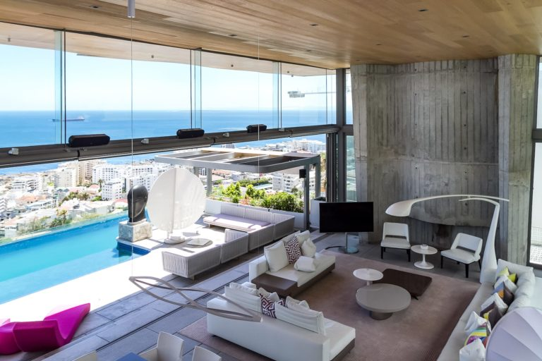 Villa Boma living area views