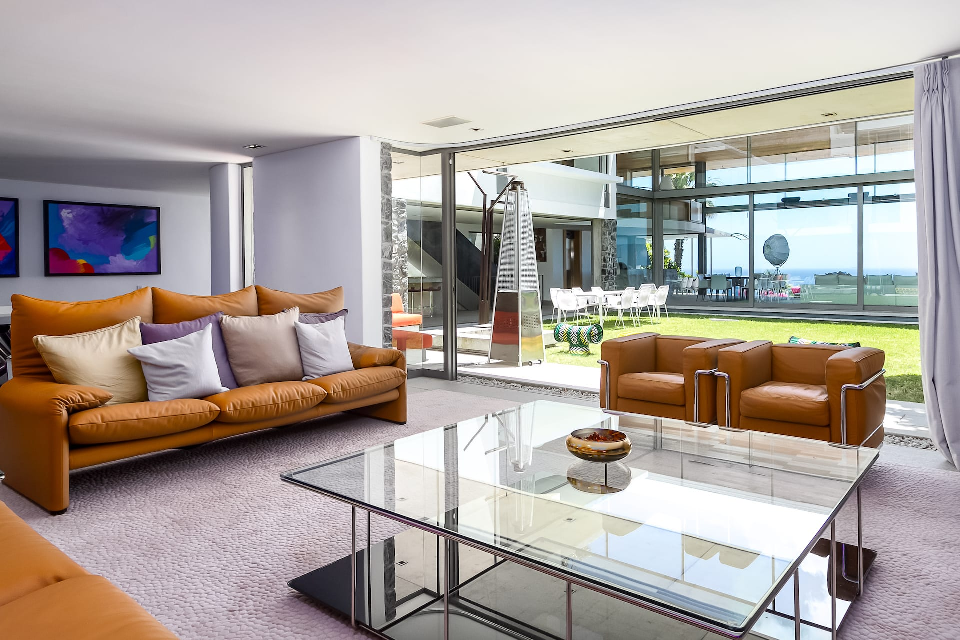 Villa Boma lounge
