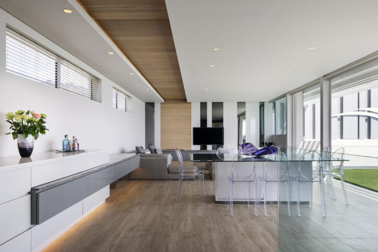 Endless Penthouse open plan living area